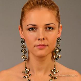 Элитная бижутерия BeAmazing.ru: Серьги Nikolas Frangos - S1291 - фото 5