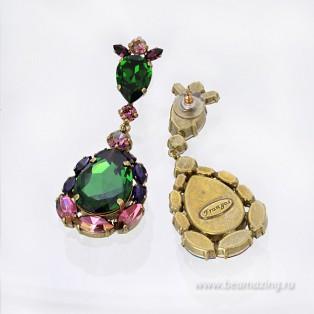 Элитная бижутерия BeAmazing.ru: Серьги Nikolas Frangos - S1329 - фото 3