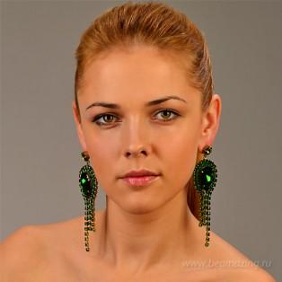 Элитная бижутерия BeAmazing.ru: Серьги Nikolas Frangos - S826 - фото 3