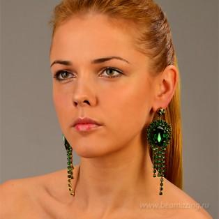 Элитная бижутерия BeAmazing.ru: Серьги Nikolas Frangos - S826 - фото 5