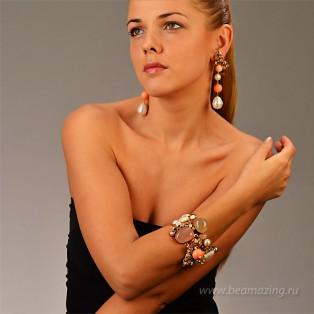 Элитная бижутерия BeAmazing.ru: Браслет Philippe Ferrandis - EU40 - фото 6