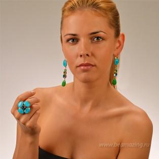 Элитная бижутерия BeAmazing.ru: Кольцо Philippe Ferrandis - FP51.1 - фото 5