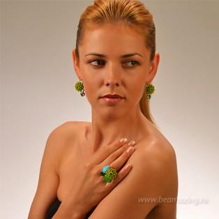 Элитная бижутерия BeAmazing.ru: Кольцо Philippe Ferrandis - FP53.1 - фото 4