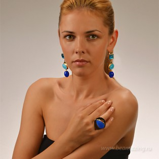 Элитная бижутерия BeAmazing.ru: Кольцо Philippe Ferrandis - GB52.1 - фото 4