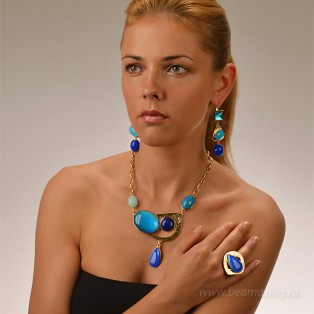 Элитная бижутерия BeAmazing.ru: Кольцо Philippe Ferrandis - GB52.1 - фото 5