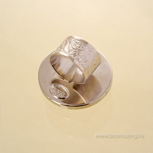 Элитная бижутерия BeAmazing.ru: Кольцо Philippe Ferrandis - ICO50  - фото 3