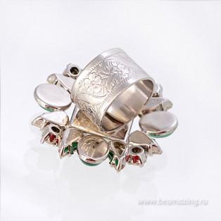 Элитная бижутерия BeAmazing.ru: Кольцо Philippe Ferrandis - LK52 - фото 3