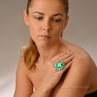 Элитная бижутерия BeAmazing.ru: Кольцо Philippe Ferrandis - LK52 - фото 4