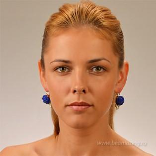 Элитная бижутерия BeAmazing.ru: Серьги Philippe Ferrandis - MJ101.2 - фото 3
