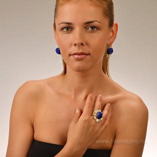 Элитная бижутерия BeAmazing.ru: Кольцо Philippe Ferrandis - MJ53.2 - фото 4