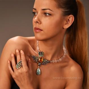 Элитная бижутерия BeAmazing.ru: Кольцо Philippe Ferrandis - TGA52 - фото 4