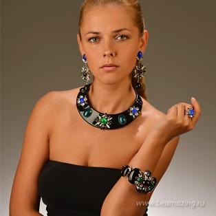 Элитная бижутерия BeAmazing.ru: Браслет Philippe Ferrandis - RZ41 - фото 4