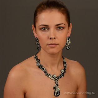 Элитная бижутерия BeAmazing.ru: Серьги Rodrigo Otazu - E2011m - фото 4