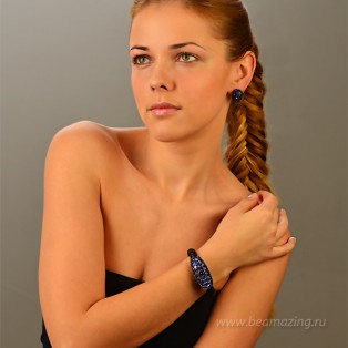 Элитная бижутерия BeAmazing.ru: Серьги Rodrigo Otazu - OTE012 - фото 4