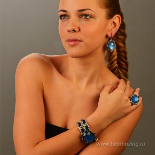 Элитная бижутерия BeAmazing.ru: Кольцо Rodrigo Otazu - OTR015b - фото 4