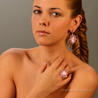 Элитная бижутерия BeAmazing.ru: Кольцо Rodrigo Otazu - OTR015r - фото 5