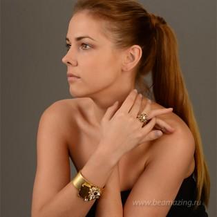 Элитная бижутерия BeAmazing.ru: Кольцо Rodrigo Otazu - R1001g - фото 3