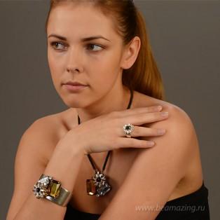 Элитная бижутерия BeAmazing.ru: Кольцо Rodrigo Otazu - R1001s - фото 4