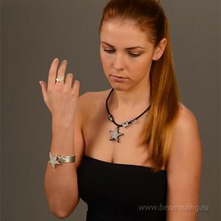 Элитная бижутерия BeAmazing.ru: Кольцо Rodrigo Otazu - R1004s - фото 3